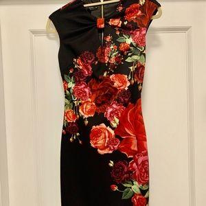 Ted Baker Floral Pencil Dress